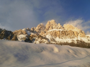 mountains around Cortina