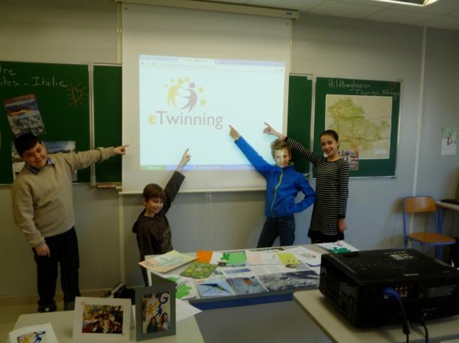Presenting eTwinning.