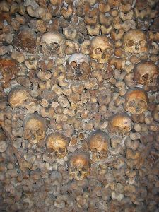Hudreds of skulls