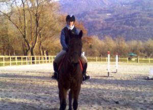 Alice horseriding