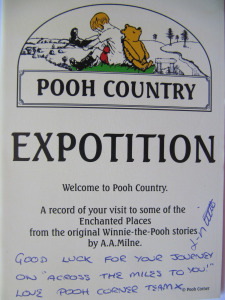 Dediction from Pooh Country ( Team Germany)